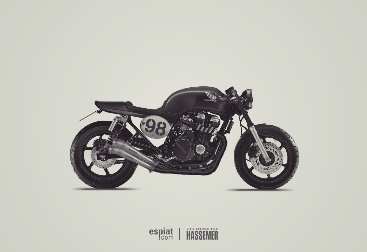 Honda Cb Cafe Racer Sound