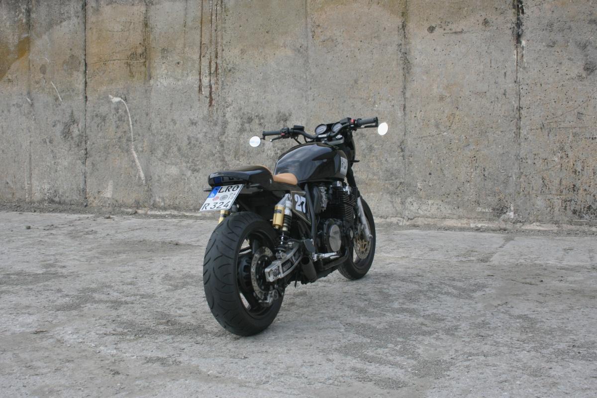 Honda Cb Cafe Racer By Gt Moto