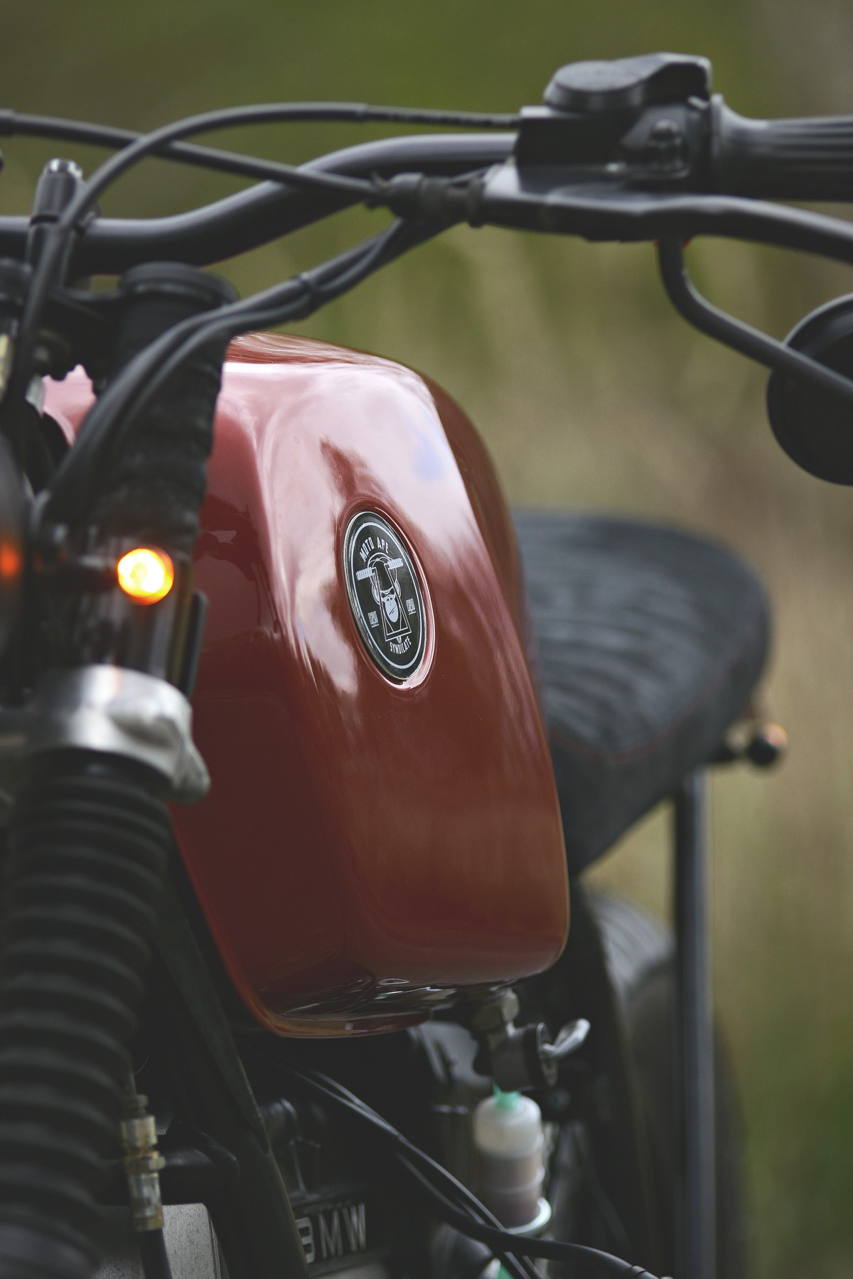 bmw r80 cafe racer tracker umbau