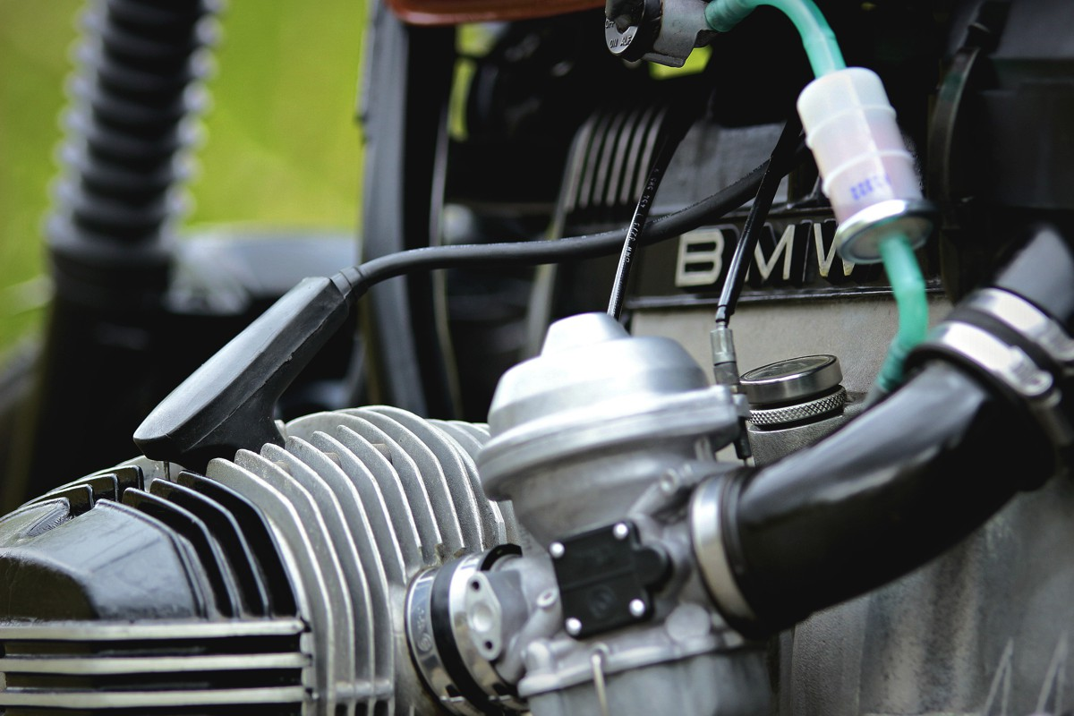 bmw r80 cafe racer tracker umbau vergaser
