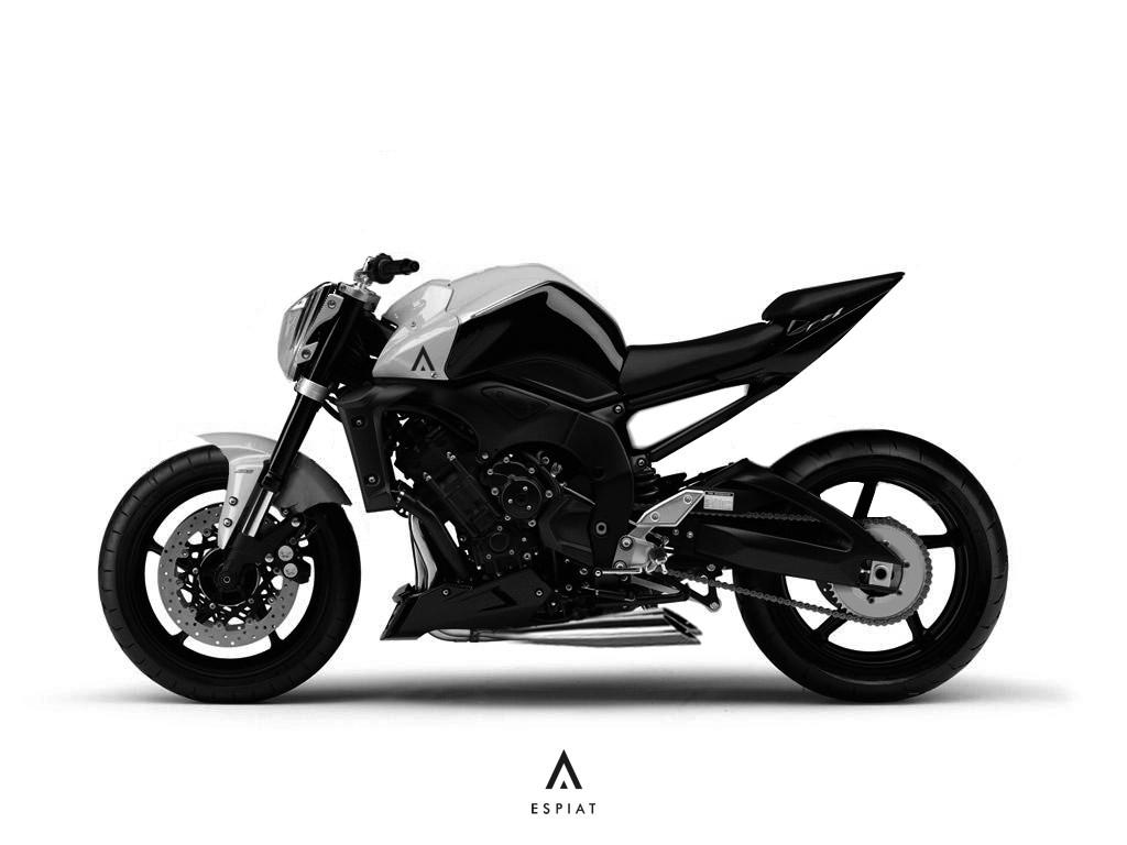 Yamaha Fz 1 Umbau Concept Espiat