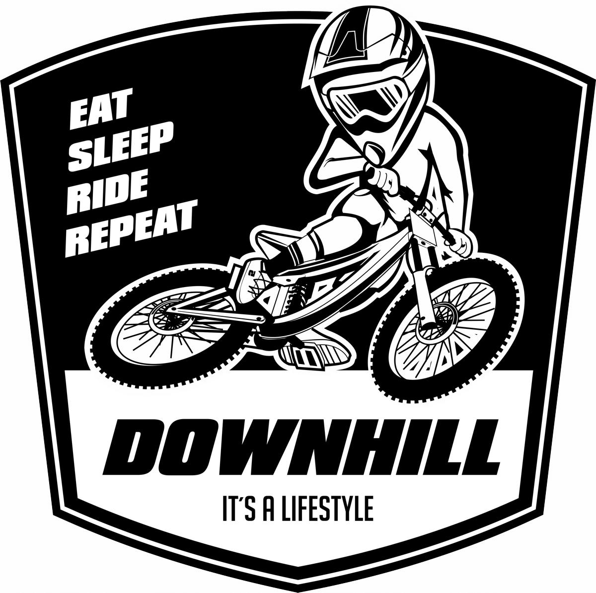downhill-mtb-t-shirt-motiv