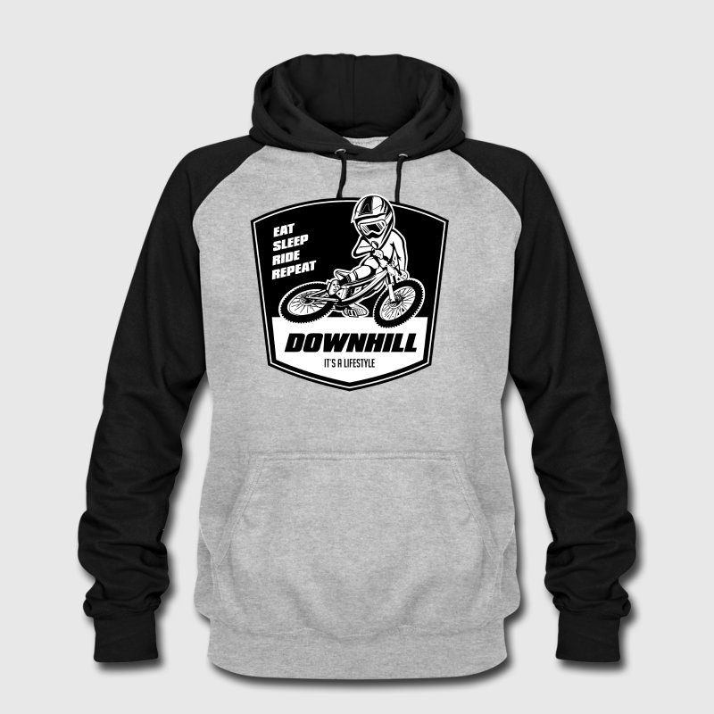 Downhill MTB Motiv für T-Shirt, Hoodie und Sticker