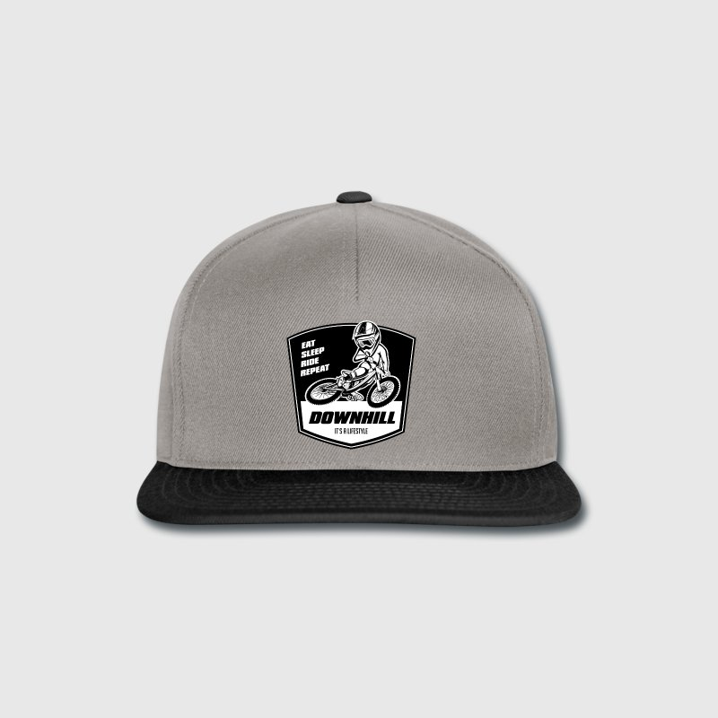 downhill-t-shirt-eat-sleep-ride-repeat-snapback-cap