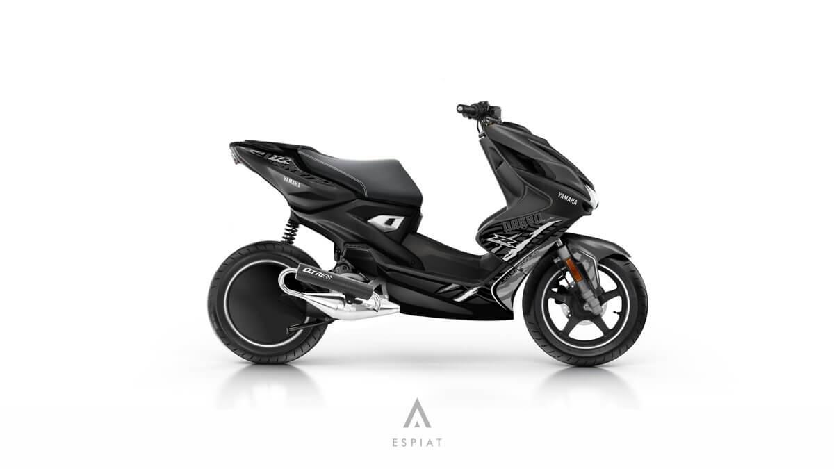 2016-Yamaha-aerox-umbau-AER50N-roller-tuning