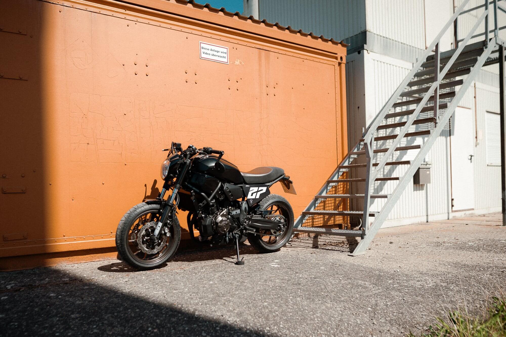 xsr700 Umbau Heck Sitzbank