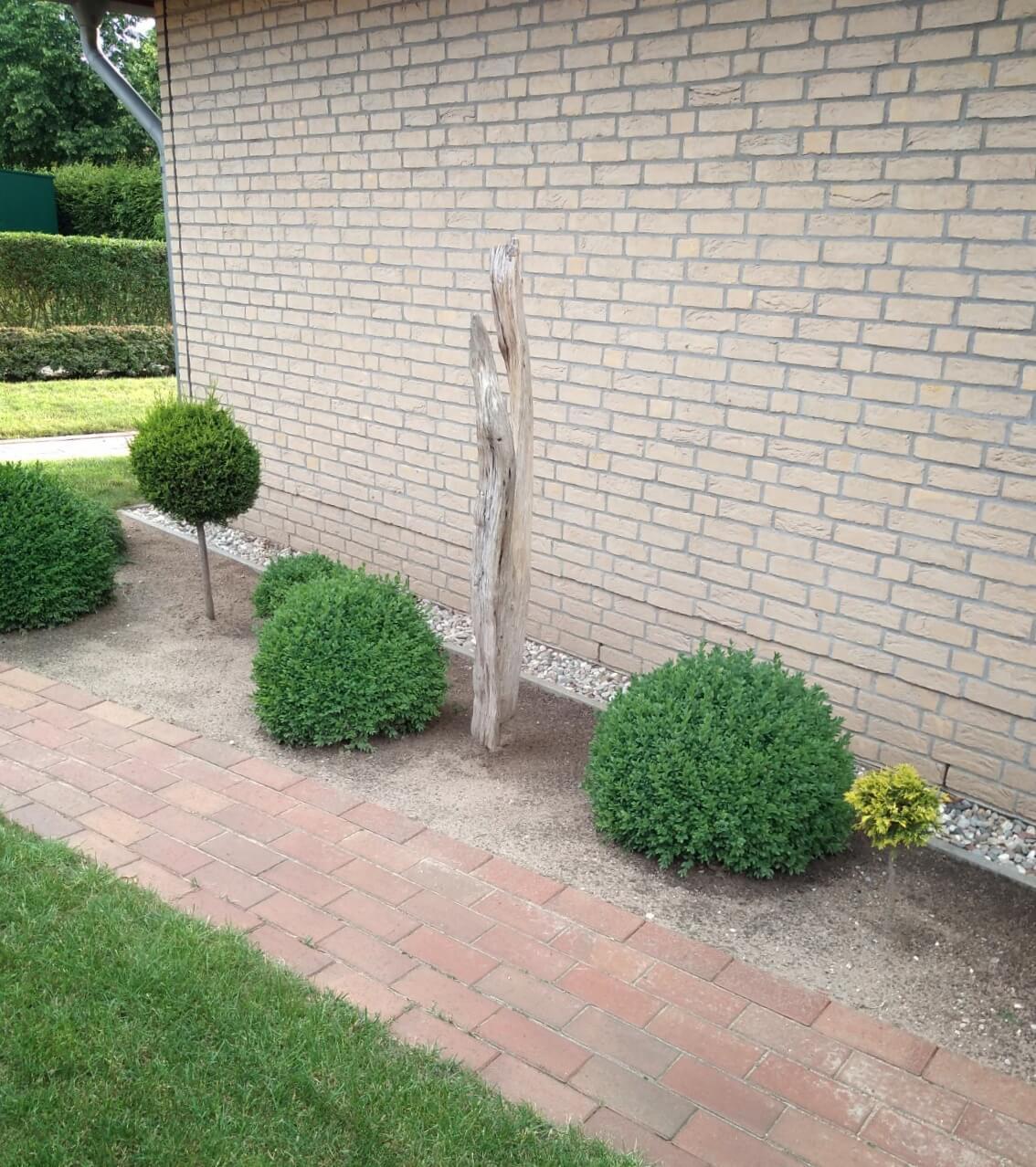 Gartenskulptur